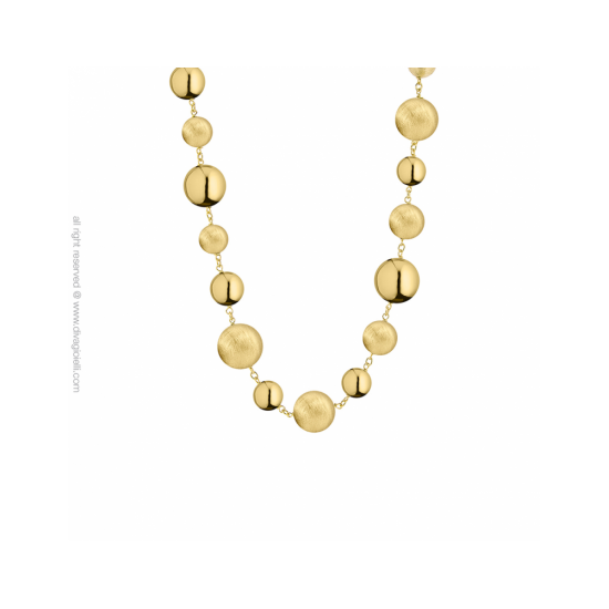 17549GM - Luce Necklace. l 43 e 46 cm. gold plated. scratched and shin - 100208