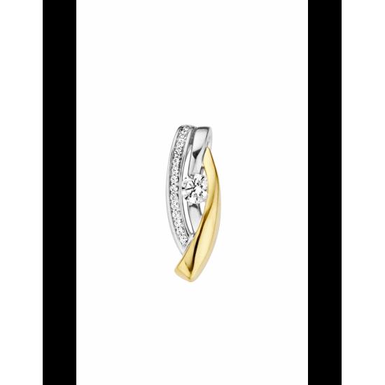 41-HMD16-0,37 - 16 Diamanten Mid:0.25crt Tot: 0.37crt - 102507