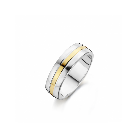 41-R122056 - goud/zilveren ring - 102785