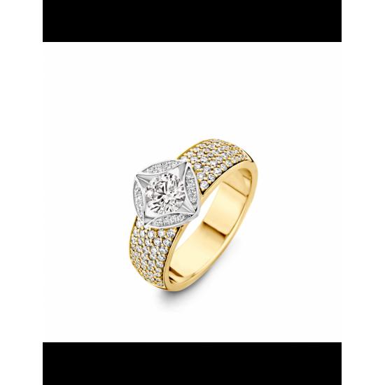 14-RMD107G-1,25 - 107 Diamanten Mid:0.60crt Tot: 1.25crt G/VSI