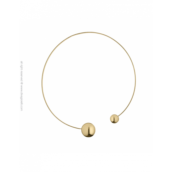 17333GP - Necklace - Eclisse. gold poly