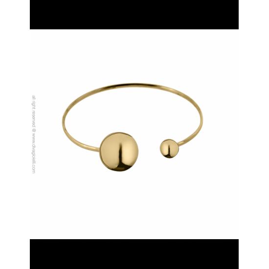 17334GP - Bracelet - Eclisse. gold poly