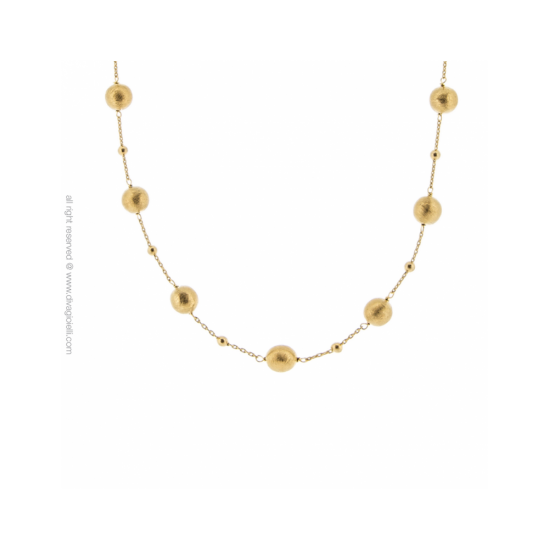 17337GM - Necklace - Luce. Stella. gold