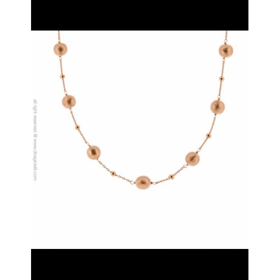 17337RM - Necklace - Luce. Stella. rosé gold