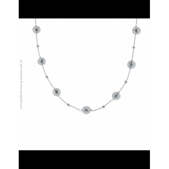 17337ZM - Necklace - Luce. Stella. rhodium