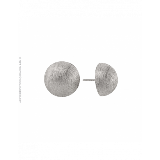 17349ZM - Earrings - Luce. ø14. rhodium