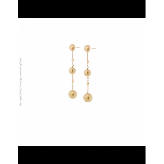 17351GM - Earrings - Stella. gold