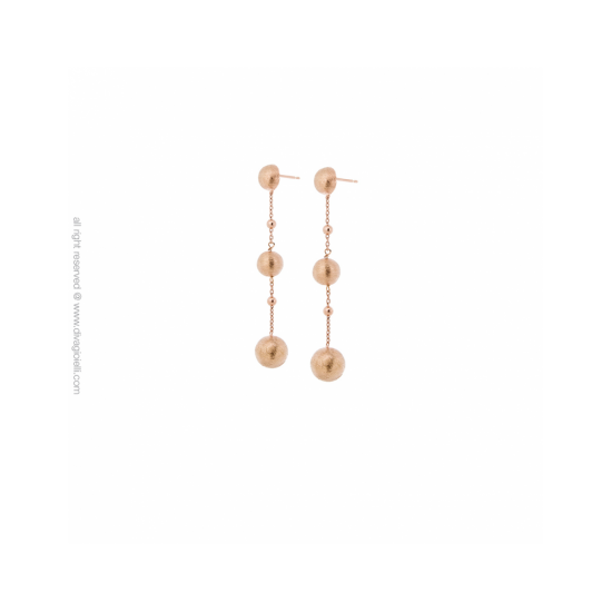 17351RM - Earrings - Stella. rosé gold