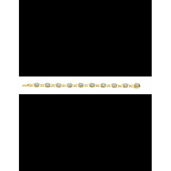 40-AA-702AQUA - Armband. 7x6 10x