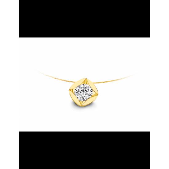 40-HMD01K-0,30 - 1 Diamant Tot: 0.30crt G/VSI