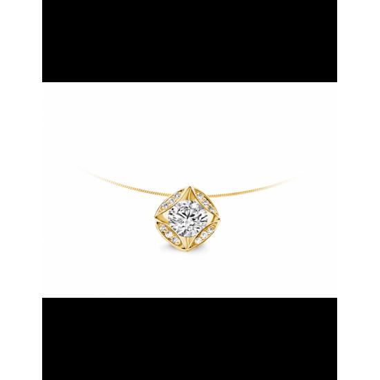 40-HMD13K-0,33 - 13 Diamanten Mid:0,30crt Tot: 0,33crt G/VSI