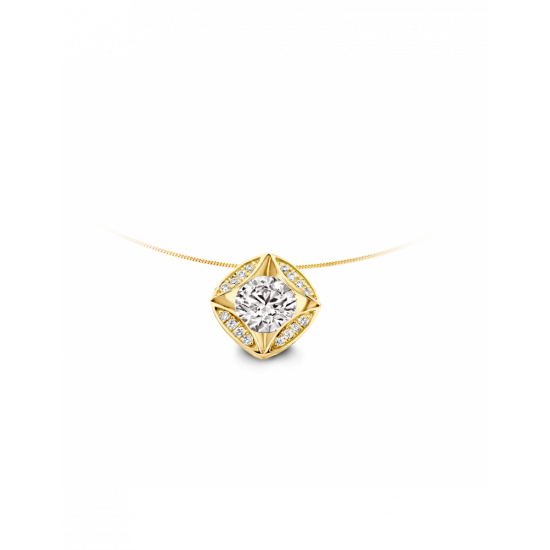 40-HMD17G-0,65 - 17 Diamanten Mid:0,60crt Tot: 0,65crt G/VSI