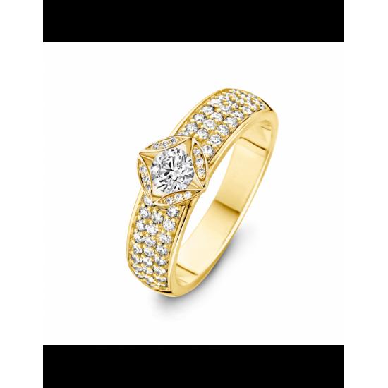40-RMD61K-0,75 - 61 Diamanten Mid:0,25crt Tot: 0,75crt G/VSI