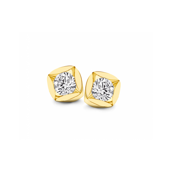 40-SMD02G-0,60 - 2 Diamanten Mid:0.30crt Tot: 0.60crt G/VSI